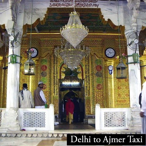 Taxi for Ajmer from Delhi Airport