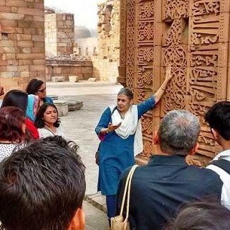 Heritage walk Delhi