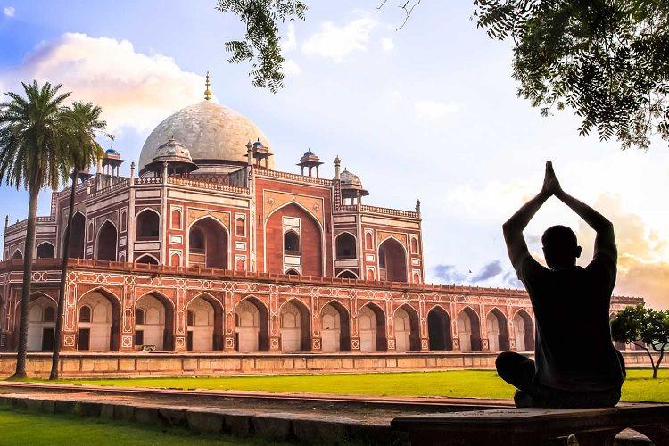 Humayun Tomb with Delhi sightseeing