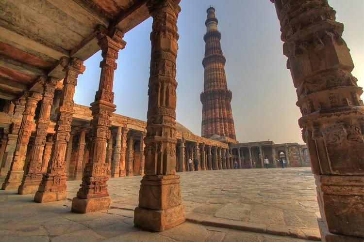 F. Qutub Minar