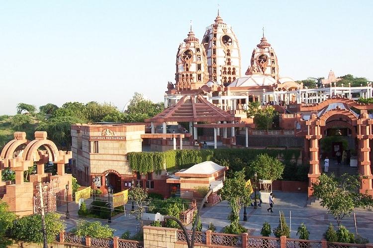 K. Iskcon Temple Delhi