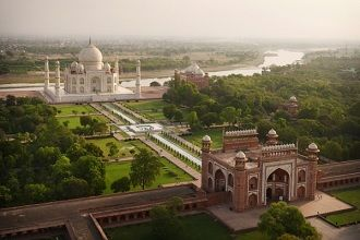 Taj Mahal Agra 2017