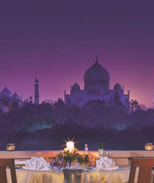 Taj Mahal evening