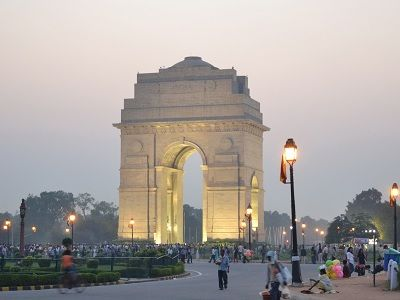 India gate in evening