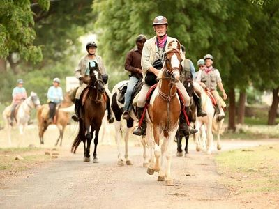 Horse safari Rohetgarh