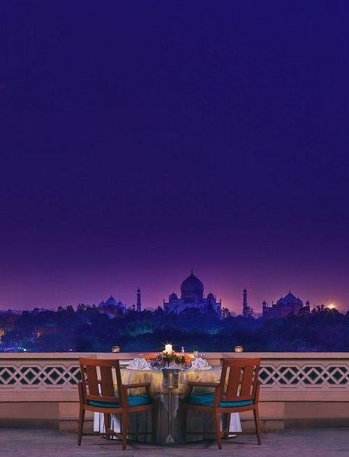 Taj Mahal Agra View