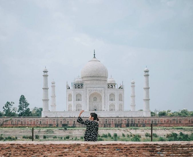 Taj Mahal with Golden triangle tour 5 days package