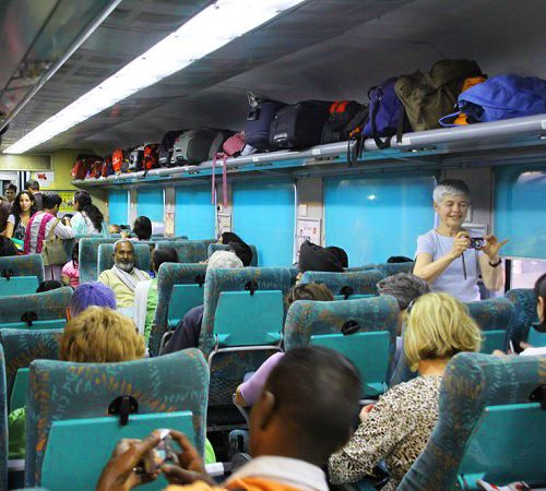 Shatabdi Express Delhi Agra