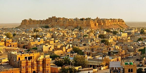 Jaisalmer City view