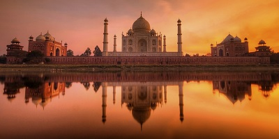 Sunrise at Taj Mahal Agra