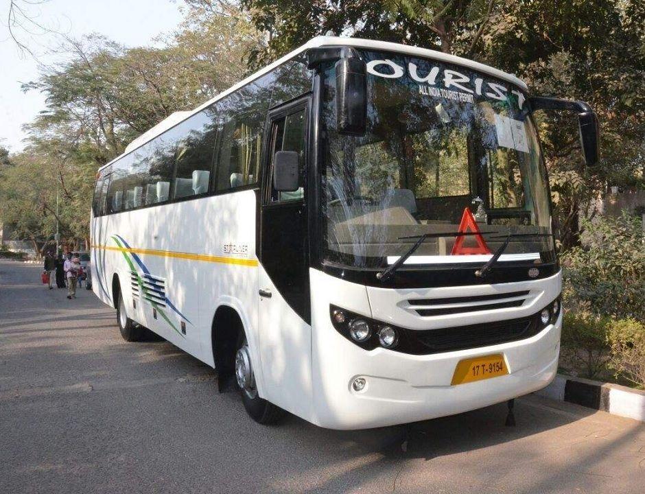 Delhi darshan by bus view