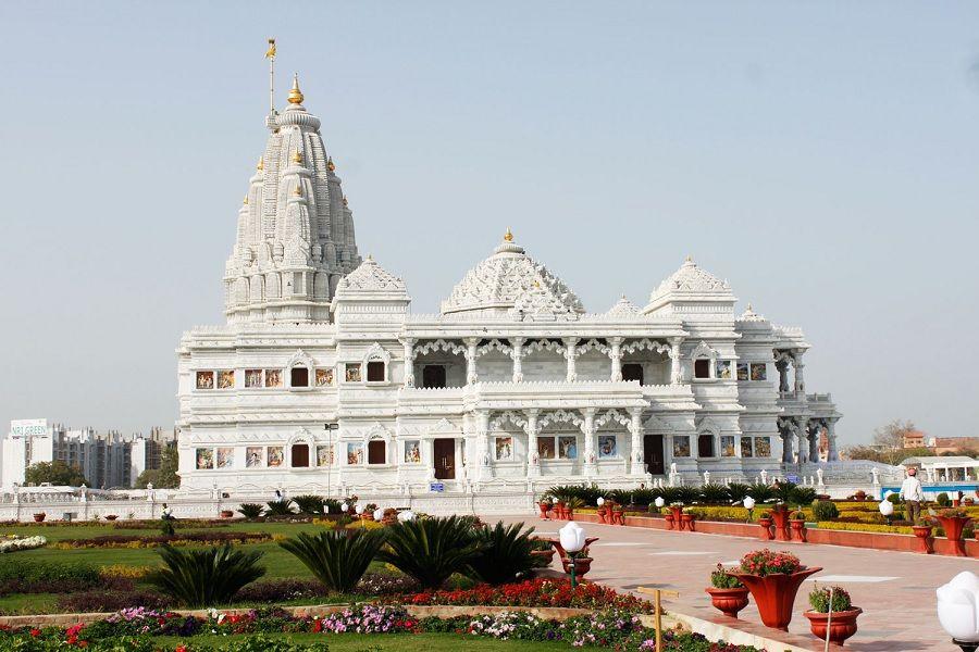 Temple in Vrindavan