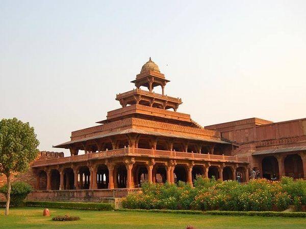 Panch Mahal at Fatehpur Sikri