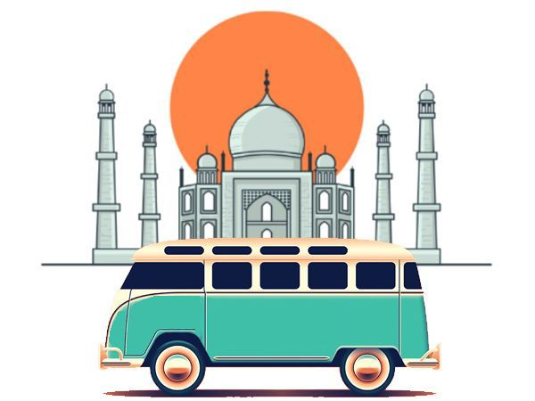 agra tour by bus