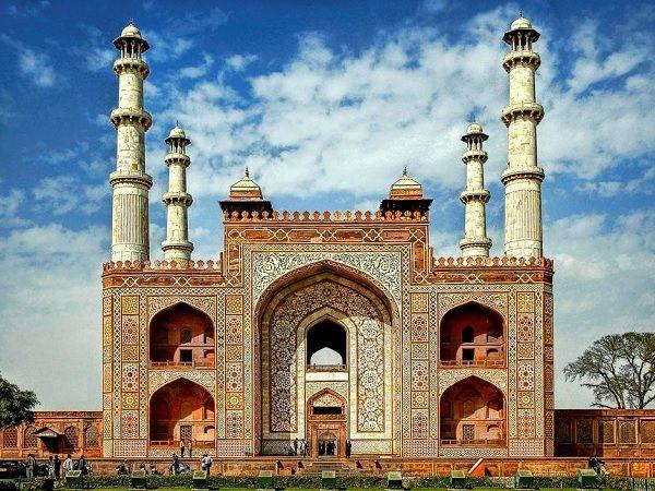 Akbar Tomb at Sikandra