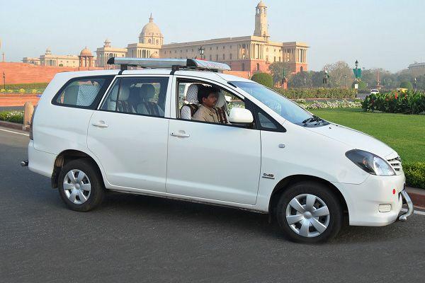 Innova Car view