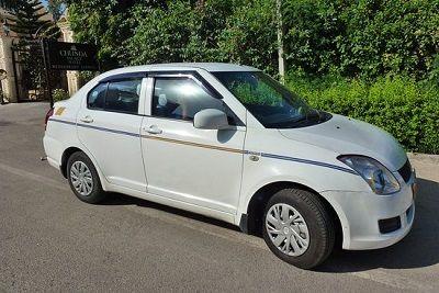 Suzuki dzire taxi car