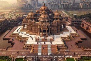 akshardham temple delhi view