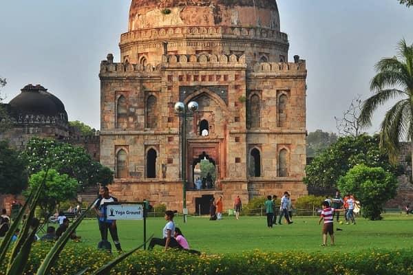 lodhi garden tour with santram holidays